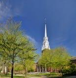 教会哈佛纪念品 免版税库存照片