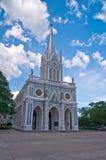 教会哥特式样式 库存图片