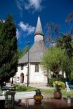 教会唯一的波兰 免版税库存图片