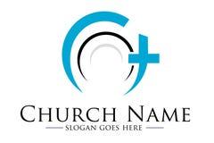 教会商标 免版税库存照片