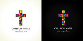 教会商标 库存照片
