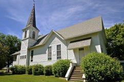 教会国家(地区)老白色 库存图片