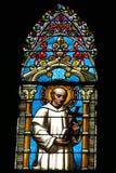 教会图象视窗 免版税库存照片