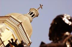 教会圆顶利马秘鲁 库存照片