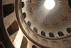 教会圆顶圣洁坟墓 免版税库存照片