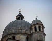 教会圆顶威尼斯 库存图片