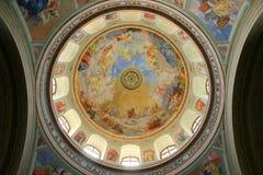 教会圆顶 库存照片