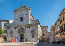 教会圣乔瓦尼在卢卡 免版税库存图片