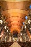 教会圣地多明戈在里斯本,葡萄牙 库存图片