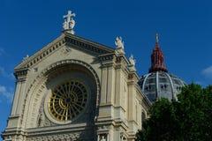 教会圣奥居斯坦-巴黎 库存照片