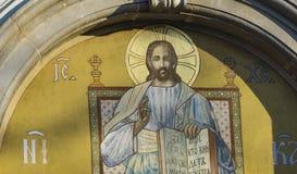 教会圣尼古拉在斯雷姆斯基卡尔洛夫奇,塞尔维亚 库存图片