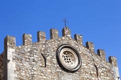 教会圣尼古拉斯(大教堂/中央寺院)从1980年大教堂 免版税库存图片