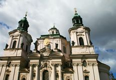 教会圣尼古拉斯 库存照片