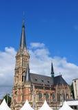 教会圣徒陪替氏在开姆尼茨,德国 库存图片