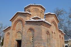 教会圣徒Georgi,丘斯滕迪尔, BG 免版税库存照片