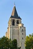 教会圣徒Germain des - Pres 库存图片