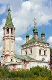 教会圣洁俄国serpukhov三位一体 免版税库存图片