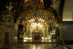 教会圣洁耶路撒冷坟墓 免版税库存图片