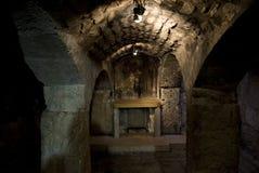 教会圣洁耶路撒冷坟墓 免版税图库摄影