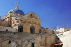 教会圣洁耶路撒冷坟墓 图库摄影