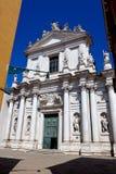 教会圣玛丽亚Assunta, I Gesuiti,威尼斯,意大利 免版税库存图片