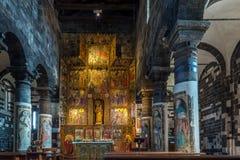 教会圣玛丽亚del Regno内部在Ardara 库存图片