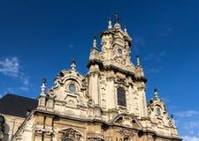 教会圣约翰浸礼会教友在布鲁塞尔 库存照片
