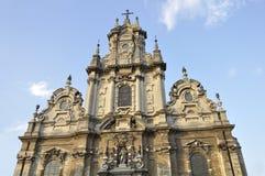 教会圣约翰浸礼会教友在布鲁塞尔 库存图片