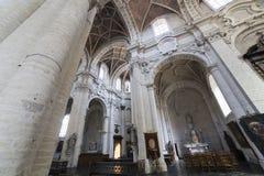 教会圣约翰Beguinage的,布鲁塞尔,比利时浸礼会教友 免版税库存照片