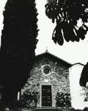 教会圣诞老人圣Rocco在西尼亚 佛罗伦萨 免版税库存照片