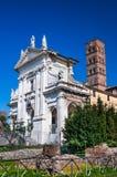 教会圣诞老人弗兰切斯卡Romana,罗马 库存图片