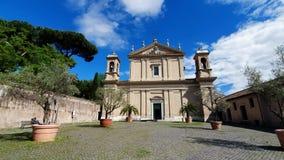 教会圣阿纳斯塔夏 E 在反对天空蔚蓝的一好日子 旅游目的地 影视素材