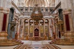 教会圣洁坟墓 耶路撒冷 以色列 免版税库存照片
