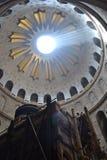 教会圣洁坟墓 库存图片