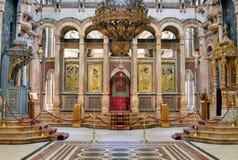 教会圣洁坟墓 免版税库存图片