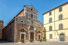 教会圣Giusto在卢卡 免版税图库摄影
