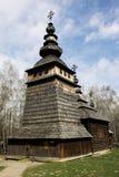 教会在乌克兰19世纪 库存照片