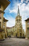 教会在伯尔尼,瑞士 免版税库存照片
