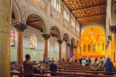 教会在伯尔尼 免版税库存图片