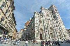 教会在佛罗伦萨,托斯卡纳,意大利 免版税库存照片