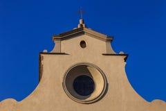 教会在佛罗伦萨,托斯卡纳 库存照片