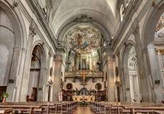教会在佛罗伦萨 免版税图库摄影
