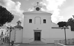 教会在佩斯基奇 免版税库存照片
