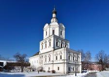 教会在俄罗斯 库存图片