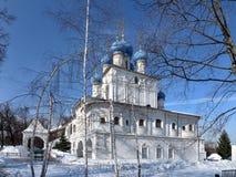 教会在俄罗斯 图库摄影