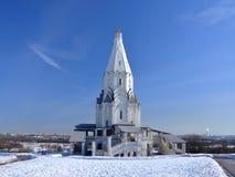 教会在俄罗斯 免版税库存图片