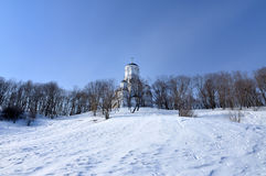 教会在俄罗斯 免版税库存照片