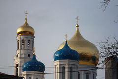 教会在傲德萨,乌克兰 库存图片