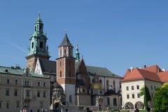 教会在克拉科夫 免版税图库摄影