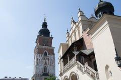 教会在克拉科夫 免版税库存照片
